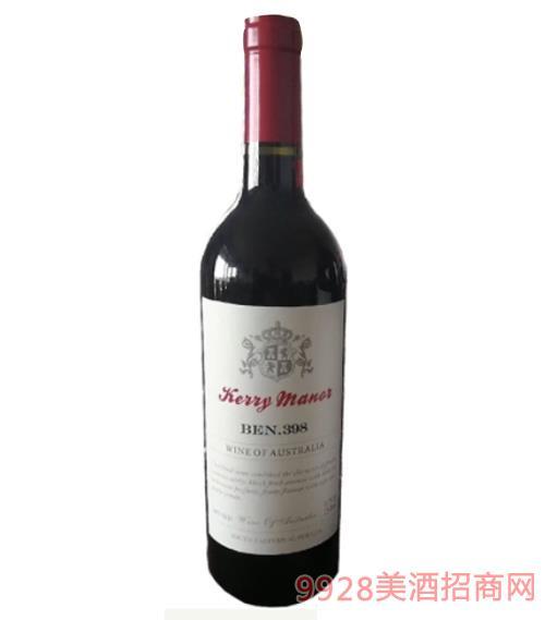 奔富庄园干红葡萄酒BEN 398