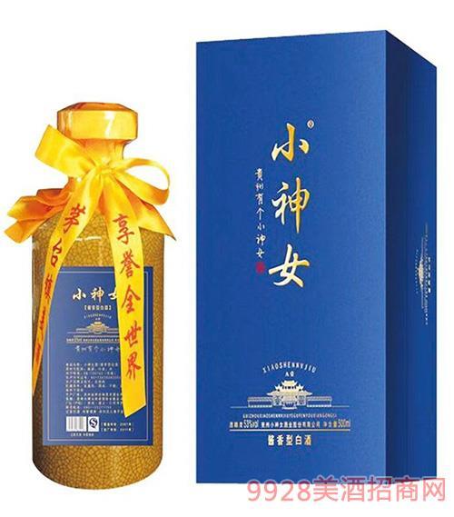 小神女酒A壹53度500ml酱香型白酒