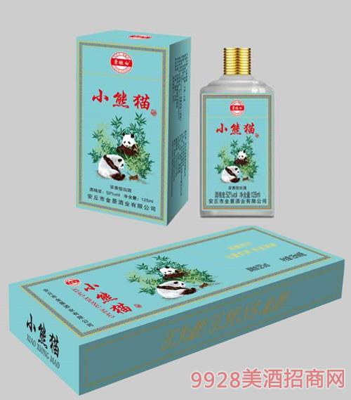 景酿白小熊猫小酒