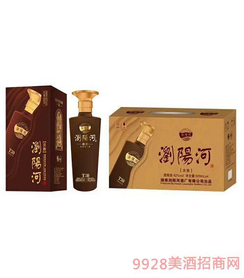 浏阳河酒古法贡藏T30 淡雅