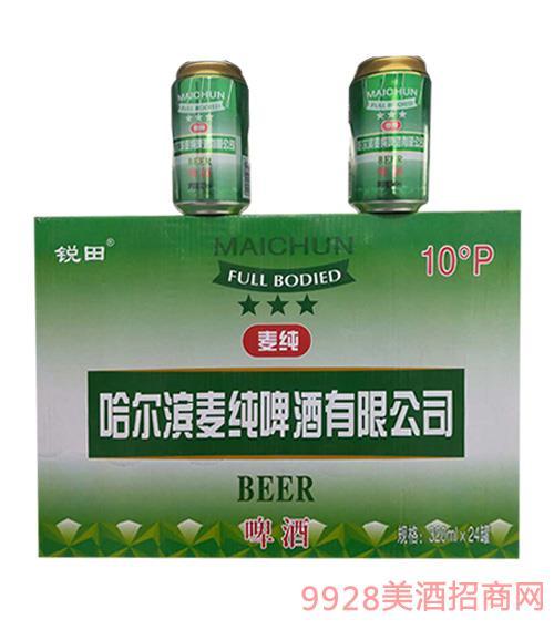 麦纯啤酒328mlx24罐
