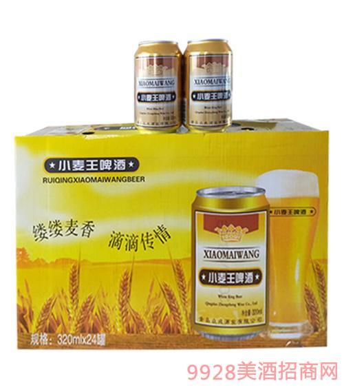 小麦王啤酒320mlx24罐