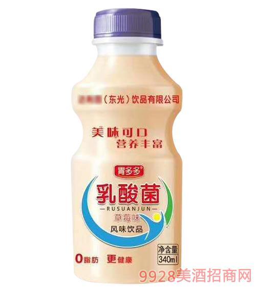 胃多多乳酸菌草莓味风味饮品340ml