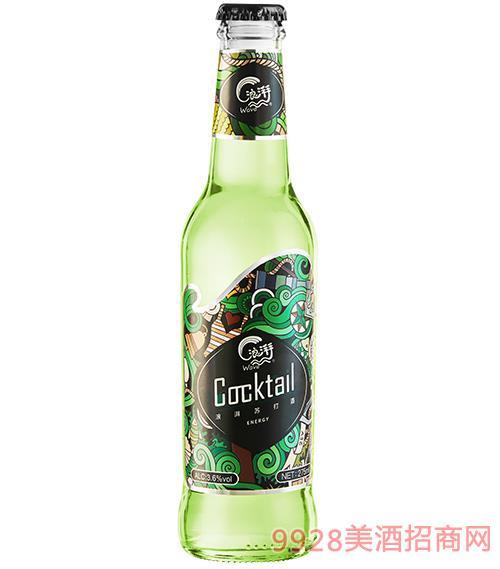 浪湃�K打酒 薄荷��檬味3.5度275ml