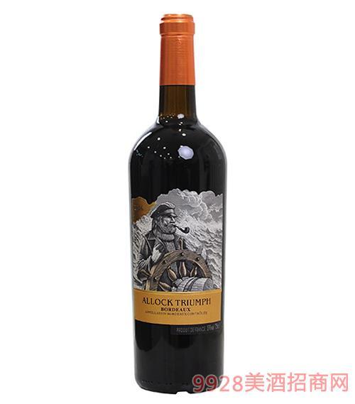 阿洛克酒�f・船�L干�t葡萄酒750ml