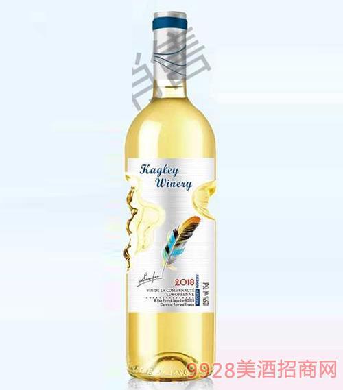 卡格�R干白葡萄酒12.5度750ml