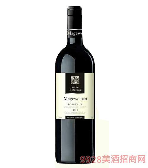 玛格威堡·波尔多特选干红葡萄酒750ml