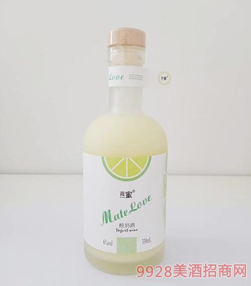 莜蜜・酸奶酒��檬6度330ml