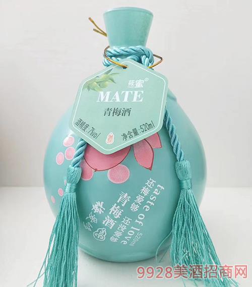 莜蜜・青梅酒7度520ml