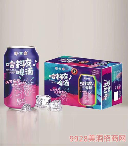 驿青春哈抖友啤酒330mlx24