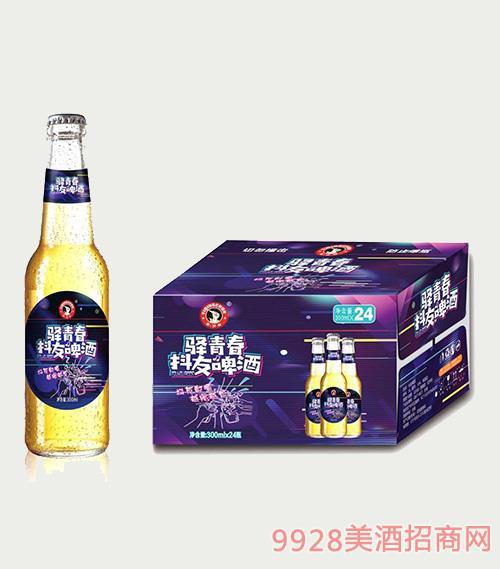 驿青春抖友啤酒300mlx24