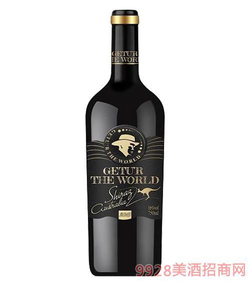 歌图环球咖啡山谷赤霞珠干红葡萄酒14度750ml