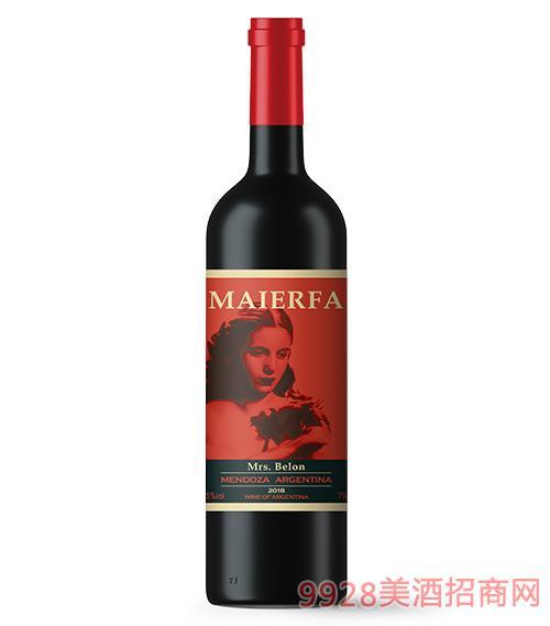 �~��法・�隆夫人干�t葡萄酒13.5度750ml
