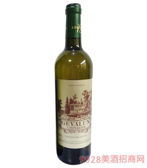歌雅��・�T士白葡萄酒12度750ml