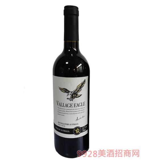 澳谷金��干�t葡萄酒13.7度750ml