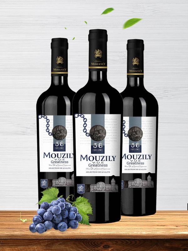 穆泽酒庄穆泽伟大者干红葡萄酒