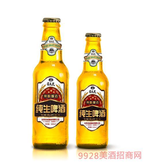 豪麥泉純生啤酒