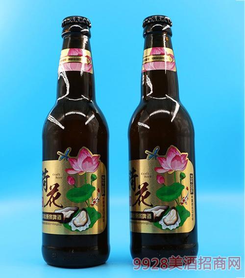 荷花牡蛎肽原浆啤酒330ml 11°P