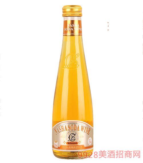005娜沙黄桃味苏打酒