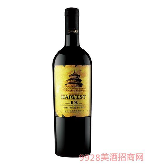 丰收橡木桶珍酿干红葡萄酒18个月