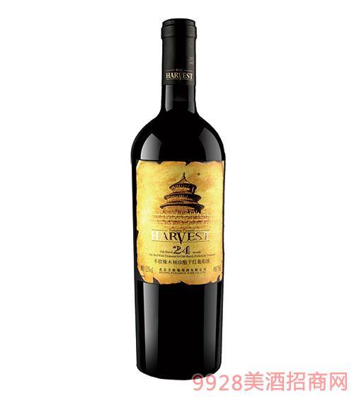 丰收橡木桶珍酿干红葡萄酒24个月