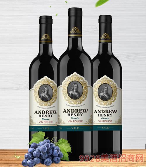 安德鲁·亨利伯爵干红葡萄酒