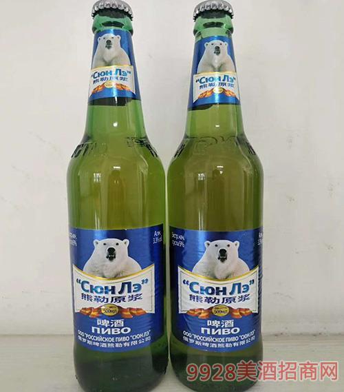 熊勒原浆啤酒