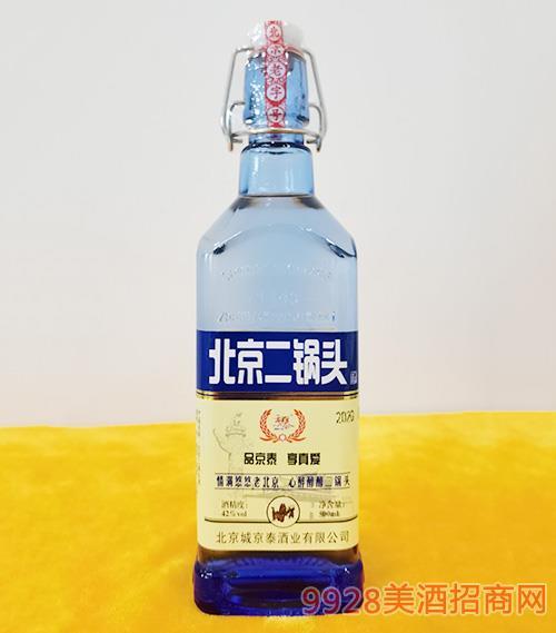 京泰北京二锅头酒42度500ml