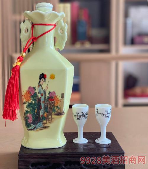 迎春酒55度500ml(美人)