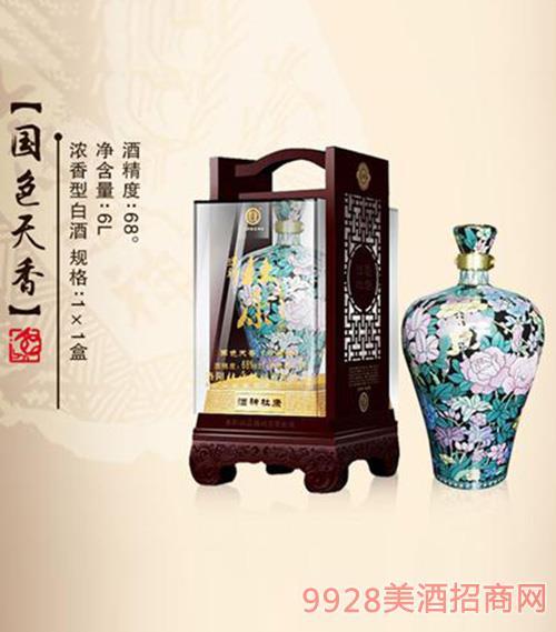 国色天香酒68度6L