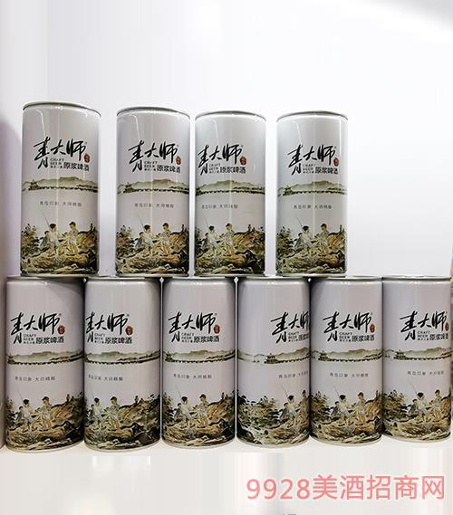 青大师原浆啤酒1L