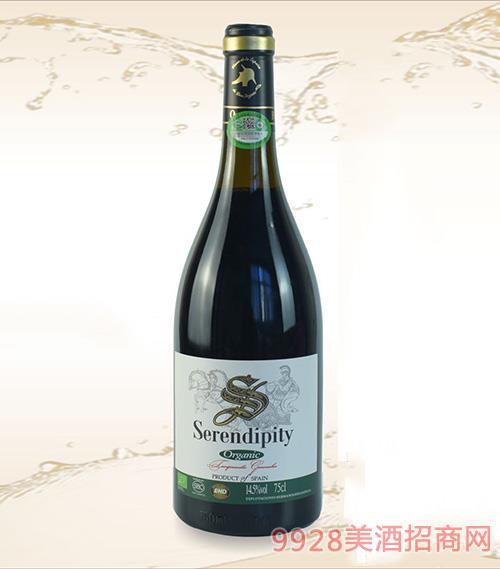 有機緣干紅葡萄酒2019
