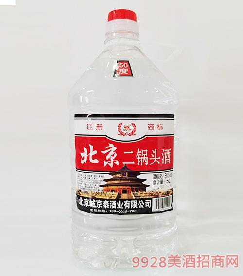 京泰北京二锅头酒56度5L