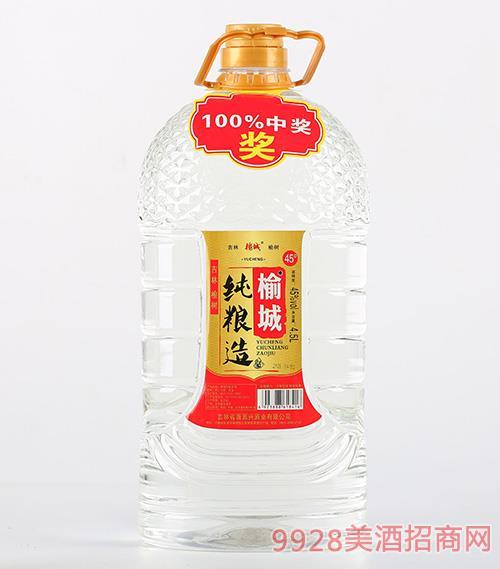 榆城坊纯酿造酒45度