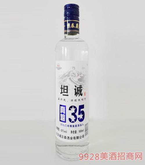 京泰坦诚酒42度500ml