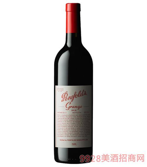 奔富宾95葛兰许干红葡萄酒