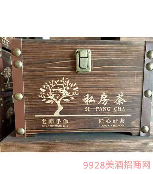 私房茶定制木箱酒