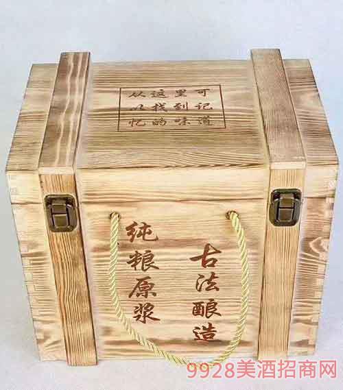 定制木箱酒
