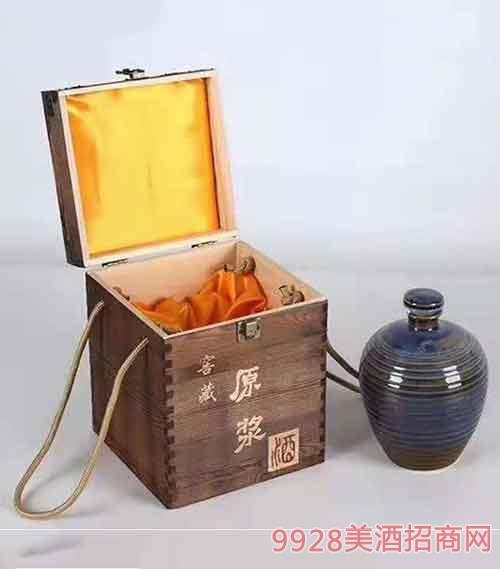窖藏原浆酒