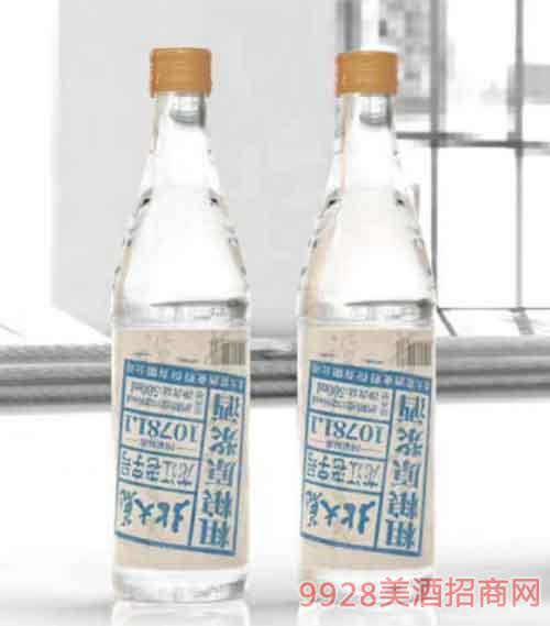 北大荒粗粮原浆酒蓝标500ml52度