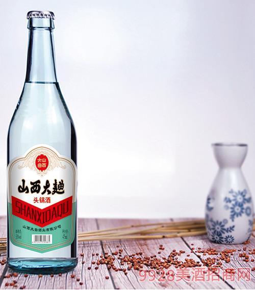 山西大曲头锅酒(纯粮优级酒)53度475ml