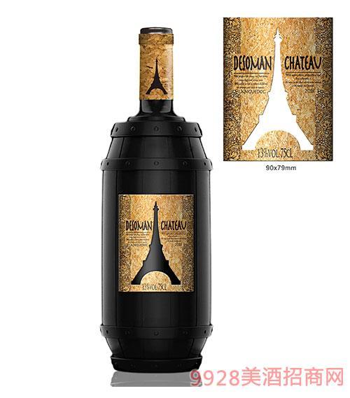 德索曼酒庄橡木桶干红葡萄酒