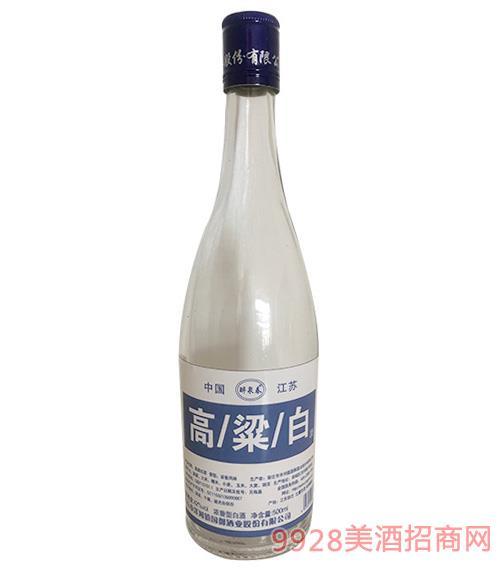 醉泉春高粱白酒42度500ml蓝标