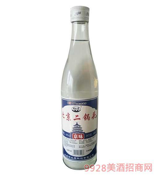 顺兆圆北京二锅头白酒--京味 蓝标