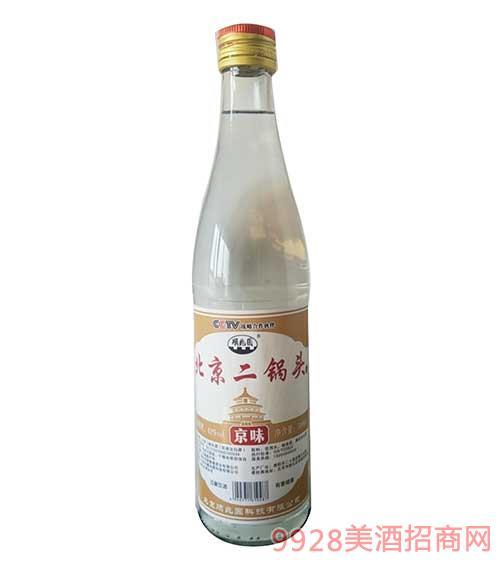 顺兆圆北京二锅头白酒--京味-黄标