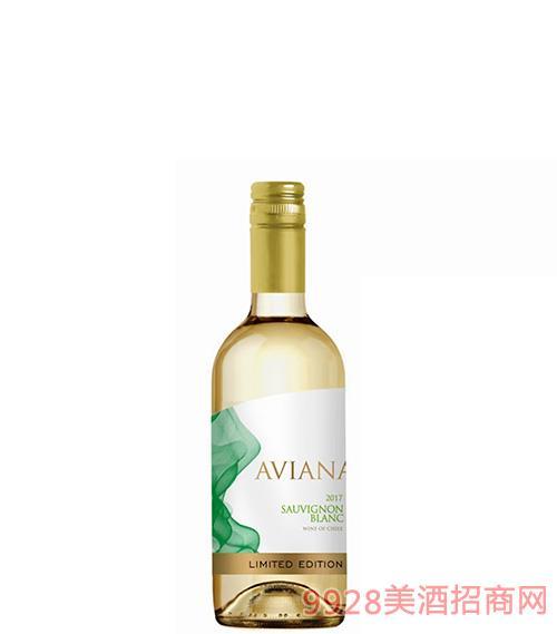 艾薇娜长相思干红葡萄酒13度187.5ml