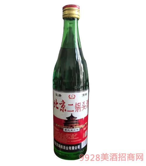 牛牧王北京二锅头酒-绿瓶-红标