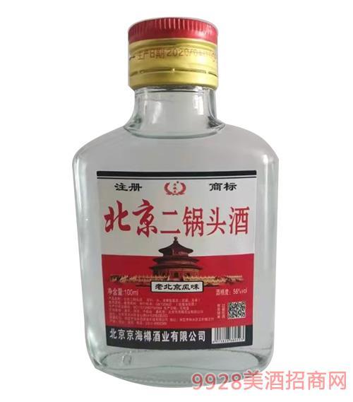 牛牧王北京二锅头酒-白瓶-100ml-56度