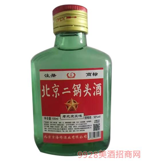 牛牧王北京二锅头酒-100ml-56度