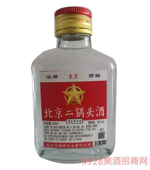 京罡北京二锅头酒100ml56度